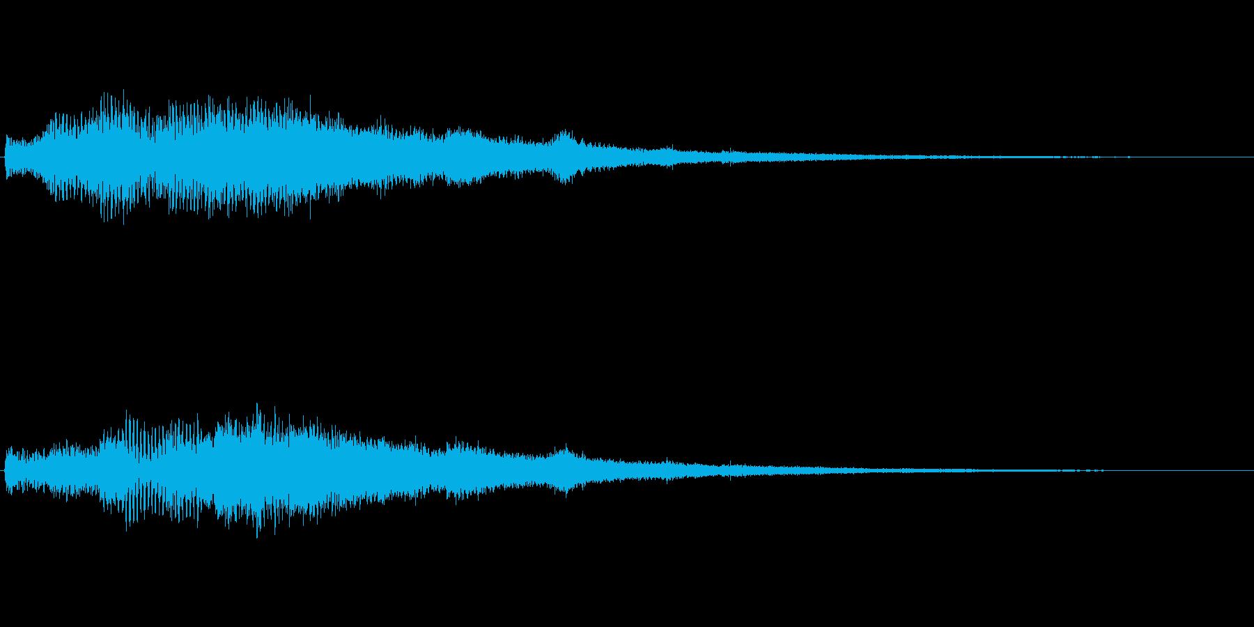【ショートブリッジ04-2】の再生済みの波形