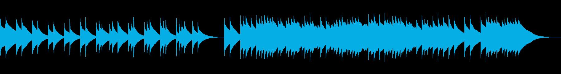 (フル)哀愁のチェレスタ曲単音展開複数音の再生済みの波形