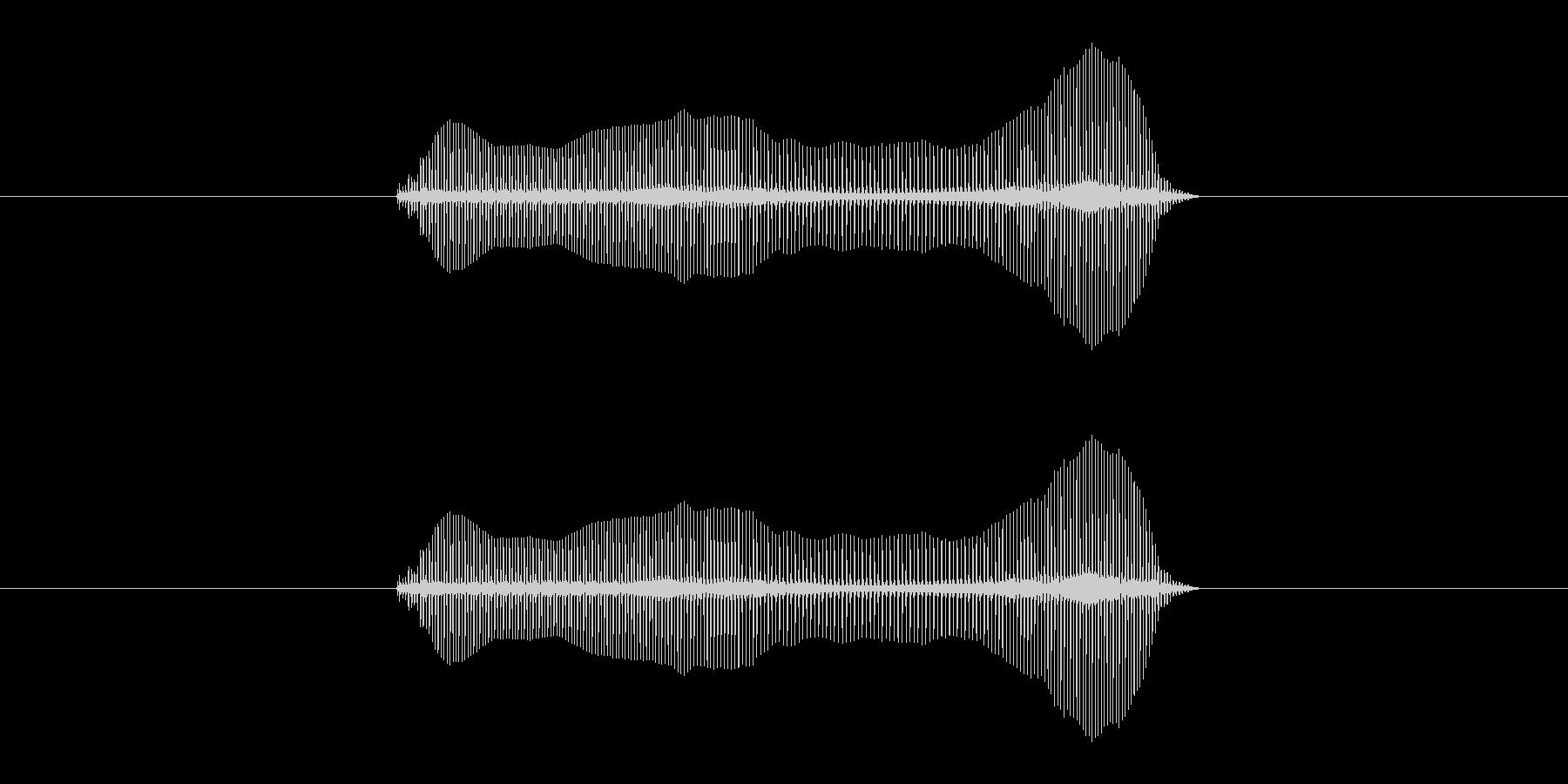 トロンボーンあるあるフレーズBPM240の未再生の波形