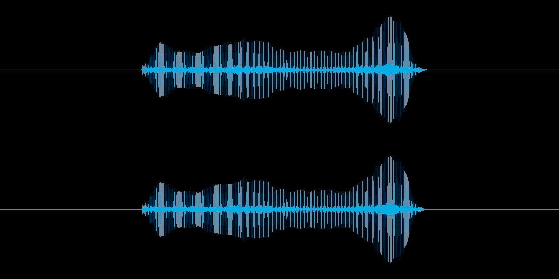 トロンボーンあるあるフレーズBPM240の再生済みの波形