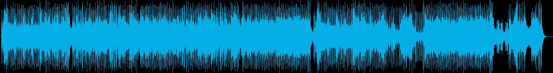 レトロでデジタルなゲーム風サウンドの再生済みの波形