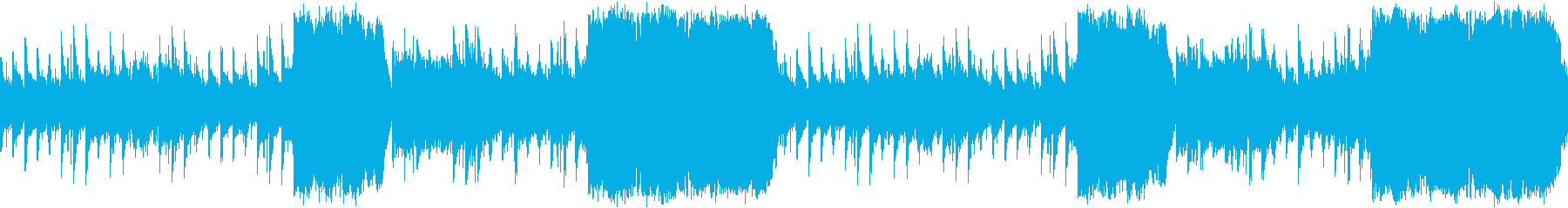 感動系壮大エピックサウンドの再生済みの波形