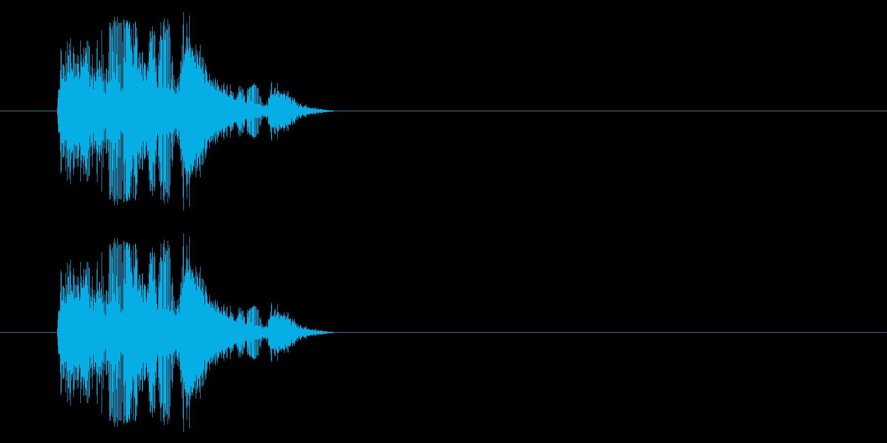 【NES RPG01-03(攻撃)】の再生済みの波形