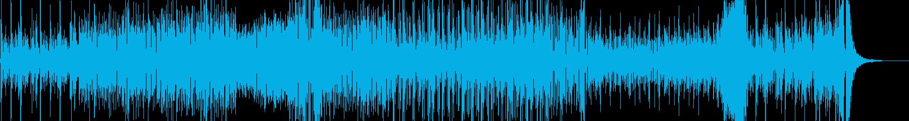 民:スパニッシュのカッコイイ!アコギ曲の再生済みの波形