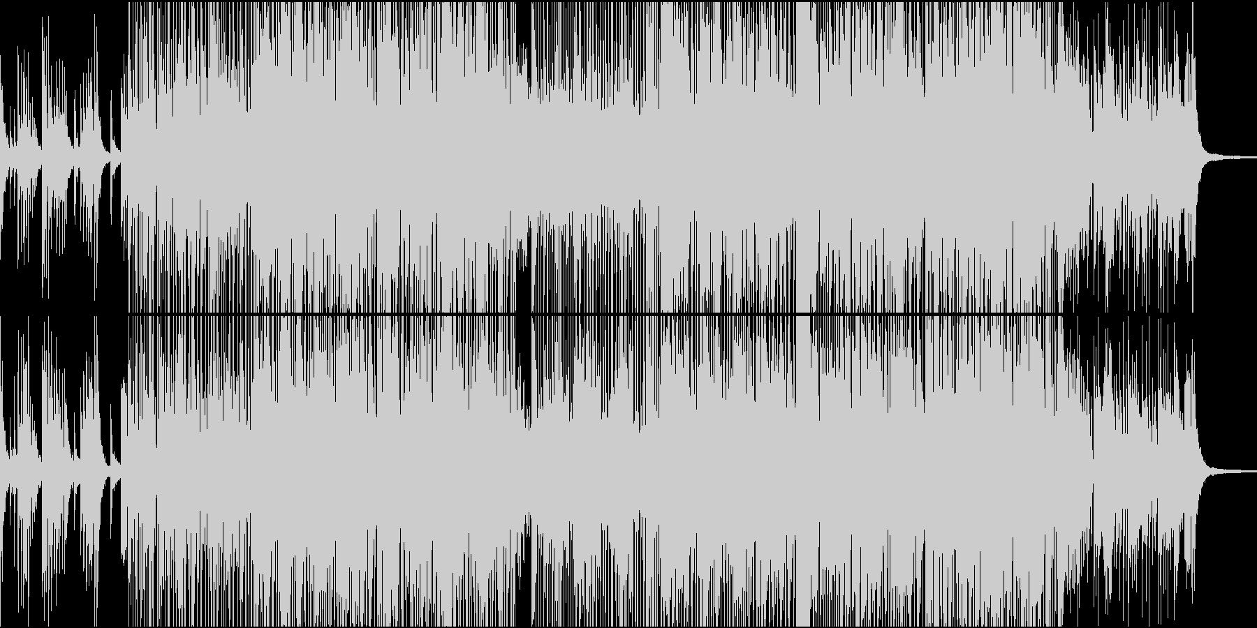 ピアノとギターで朝をゆったりイメージの未再生の波形