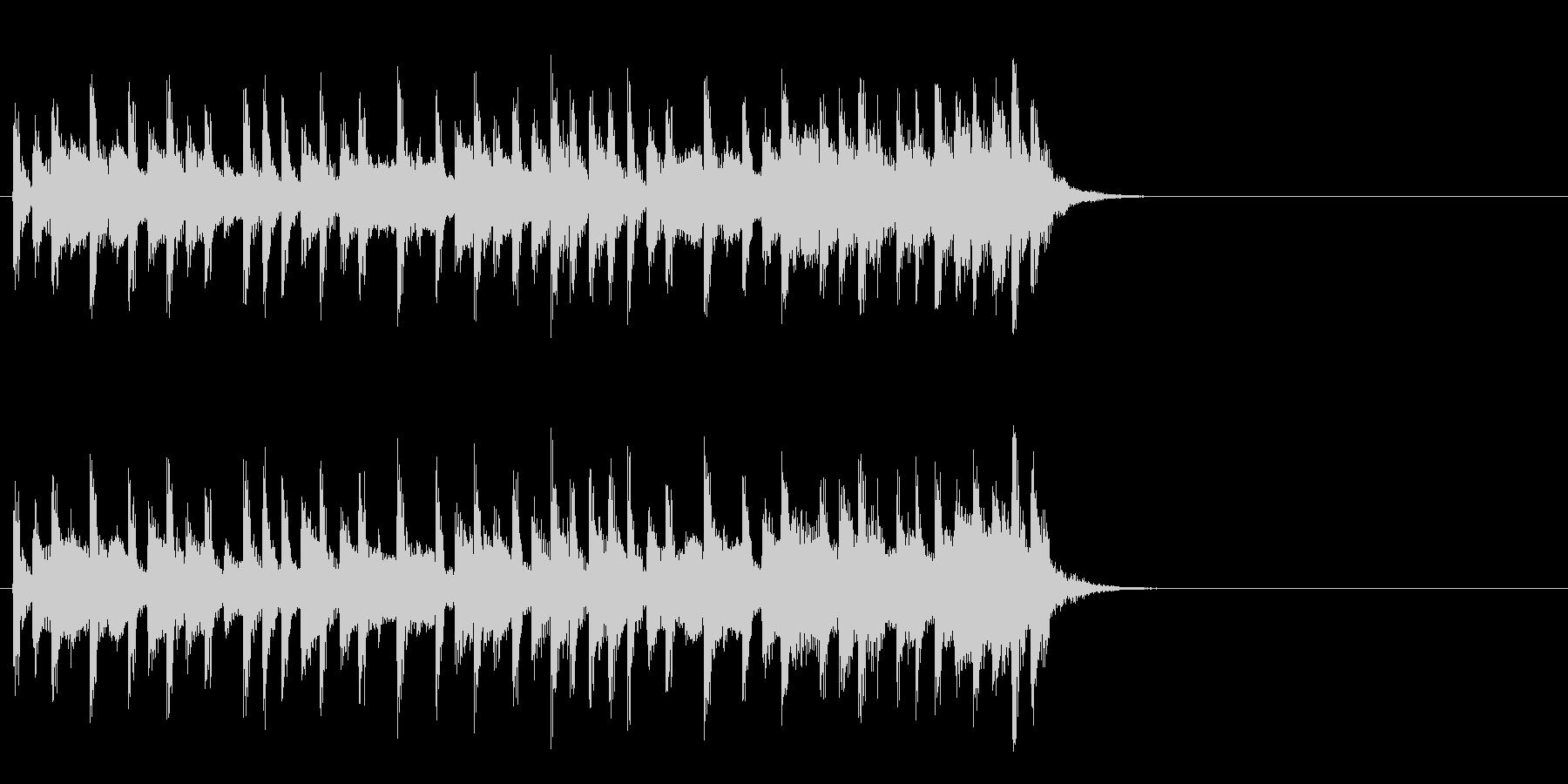 ほのぼのと優しいポップ(Aメロ)の未再生の波形