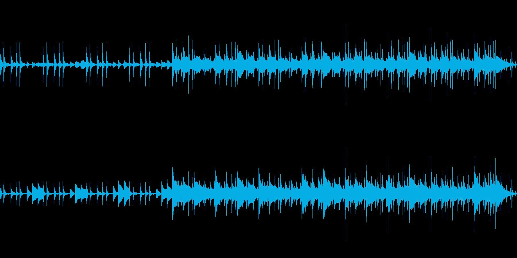 ほのぼのとした日常のBGMです。の再生済みの波形