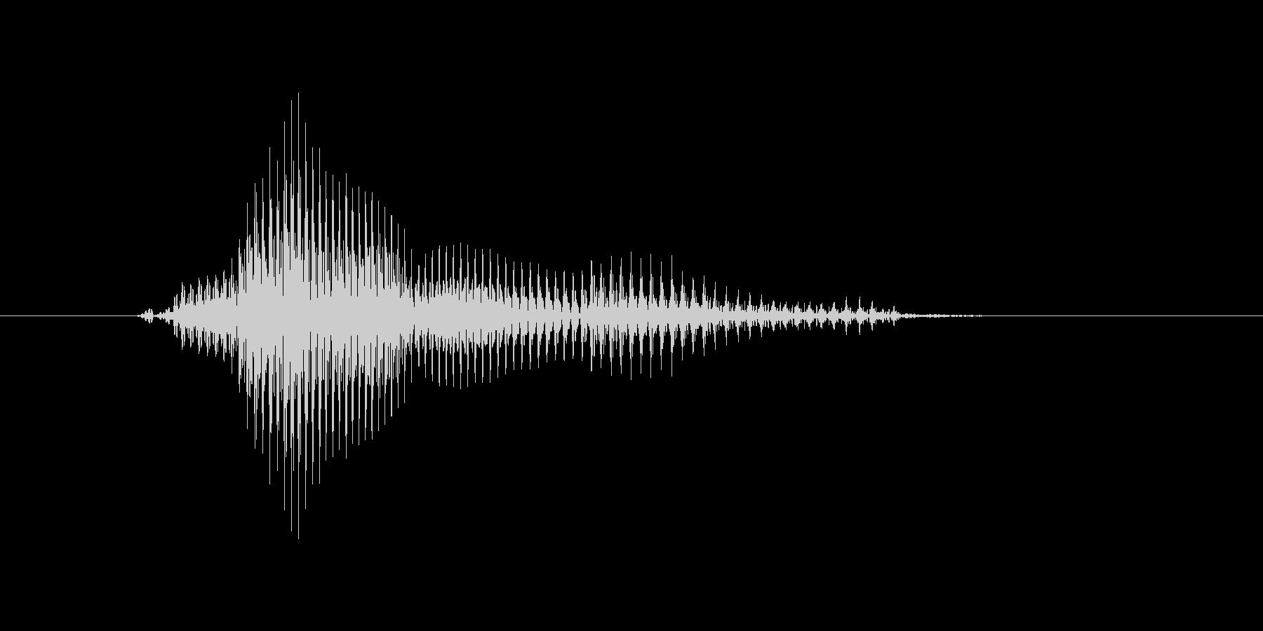 ランナーの未再生の波形