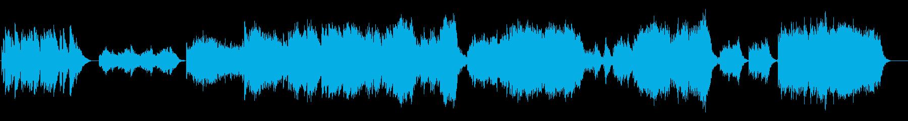 ほんのり感が美しいアンビエント・サウンドの再生済みの波形