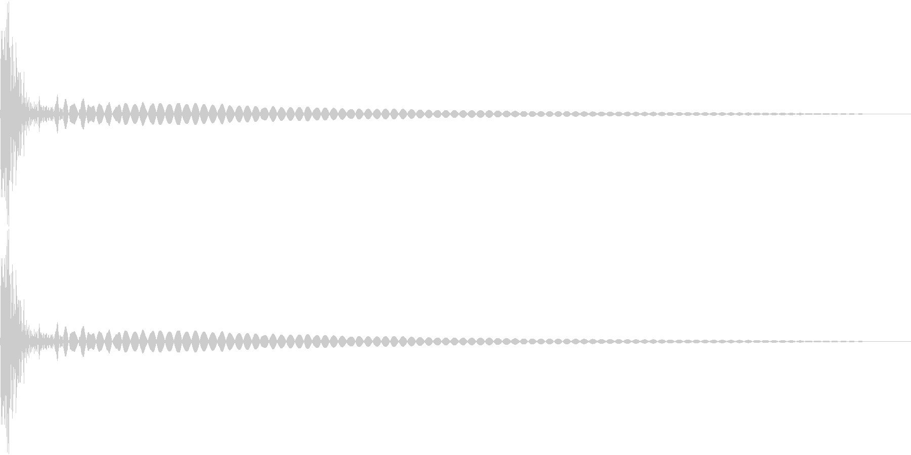 DTM Tom 8 オリジナル音源の未再生の波形