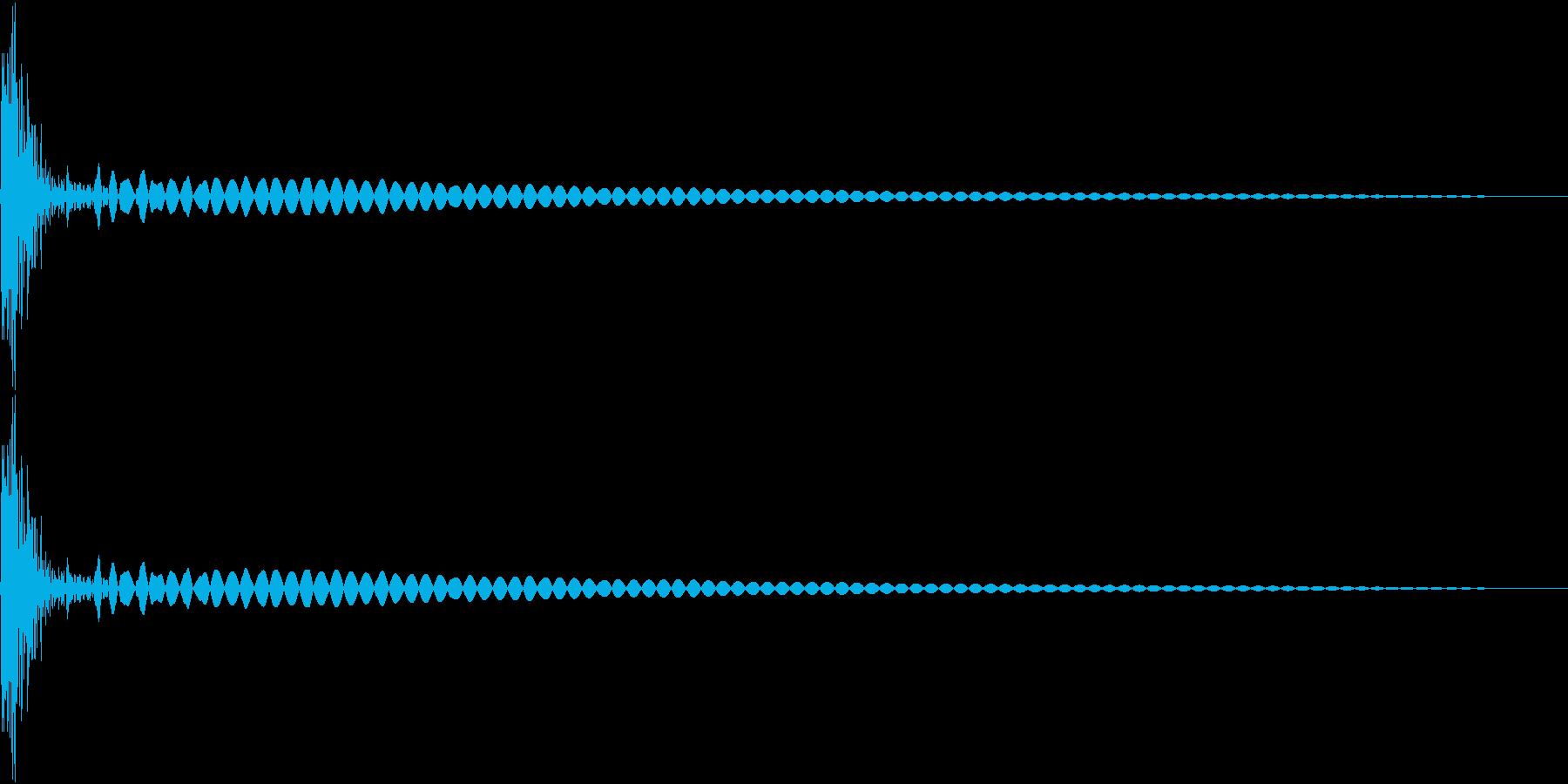 DTM Tom 8 オリジナル音源の再生済みの波形