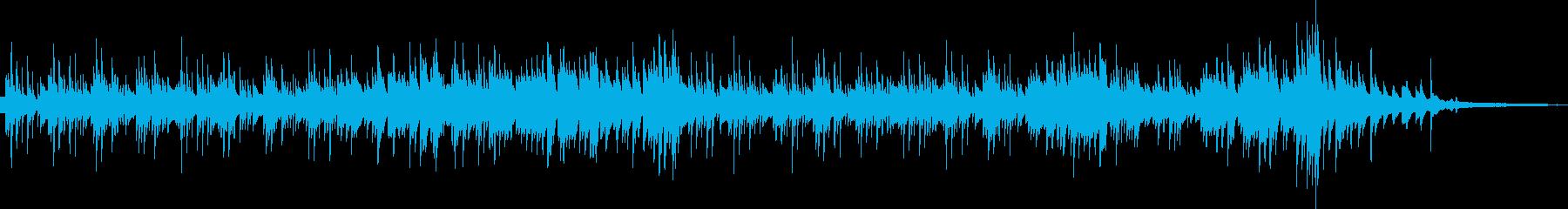 語りかけるピアノソロ(単調に・寂しげ)の再生済みの波形