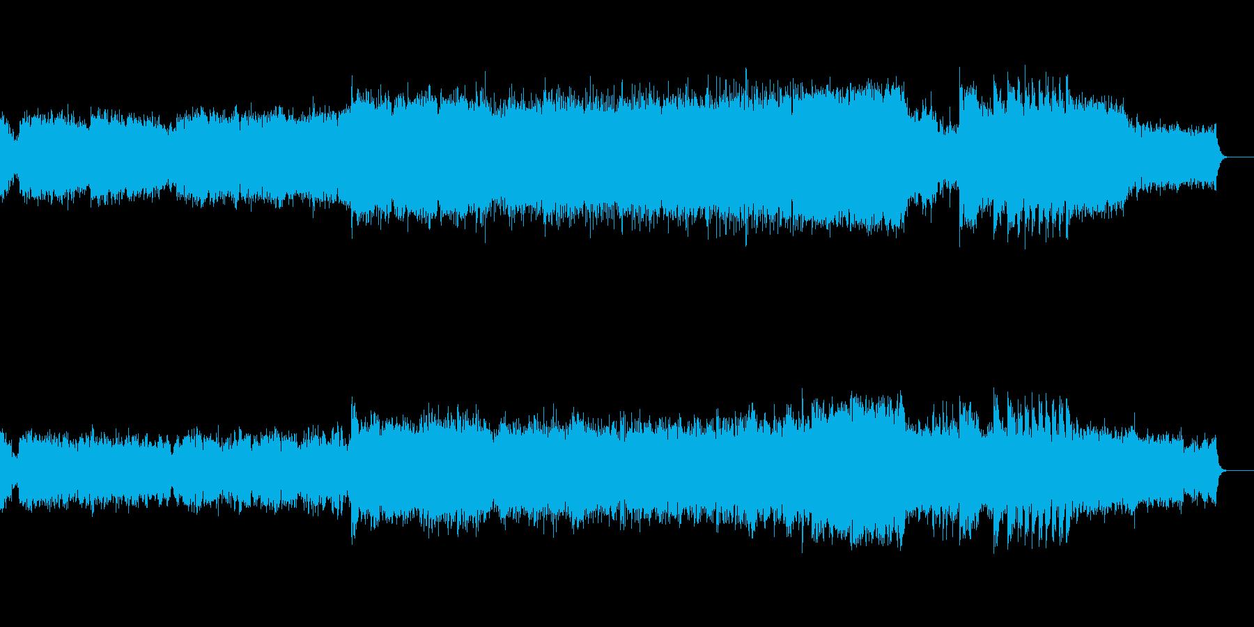 「白鳥の湖」組曲 より第一楽章「情景」の再生済みの波形