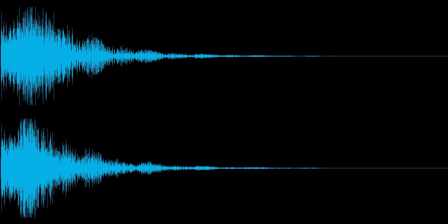 和風 オーケストラヒット ジングル!01の再生済みの波形