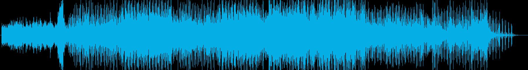 切なさと静寂のピアノバラードの再生済みの波形