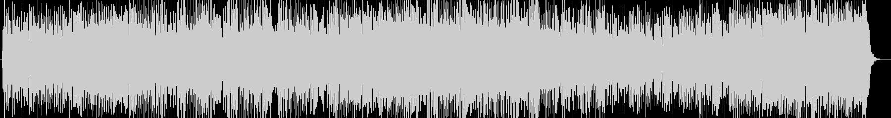 さわやかなメロディが印象的なポップスの未再生の波形