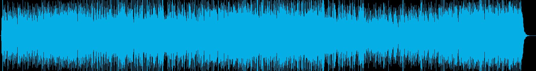 さわやかなメロディが印象的なポップスの再生済みの波形