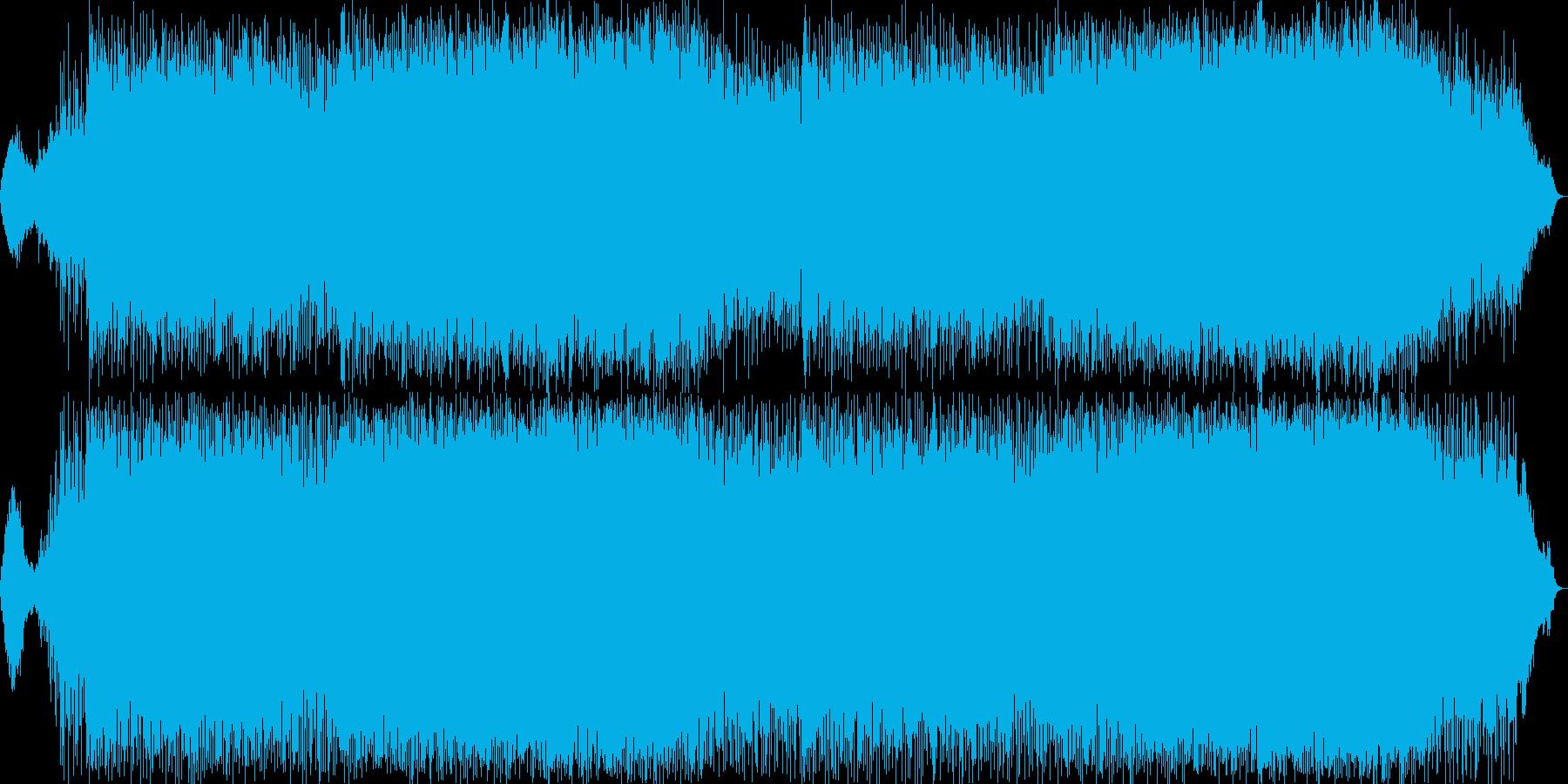 軽快で雄大なニューエイジ音楽の再生済みの波形
