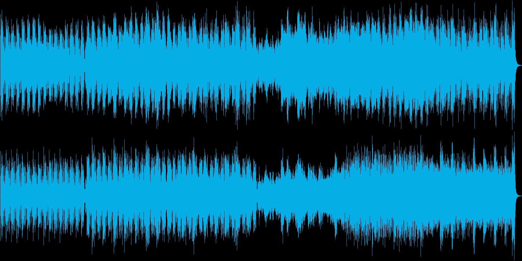 緊迫感あるソリッドなオーケストラ曲の再生済みの波形