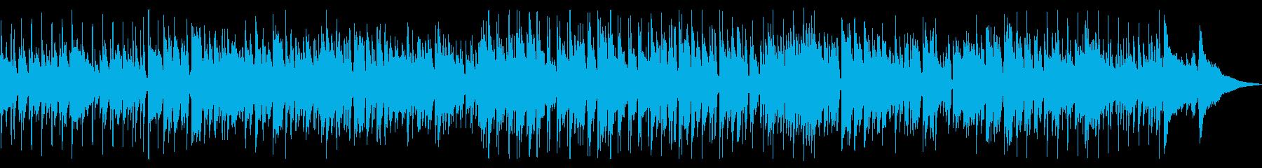 まったりとカフェで流れるボサノバの再生済みの波形