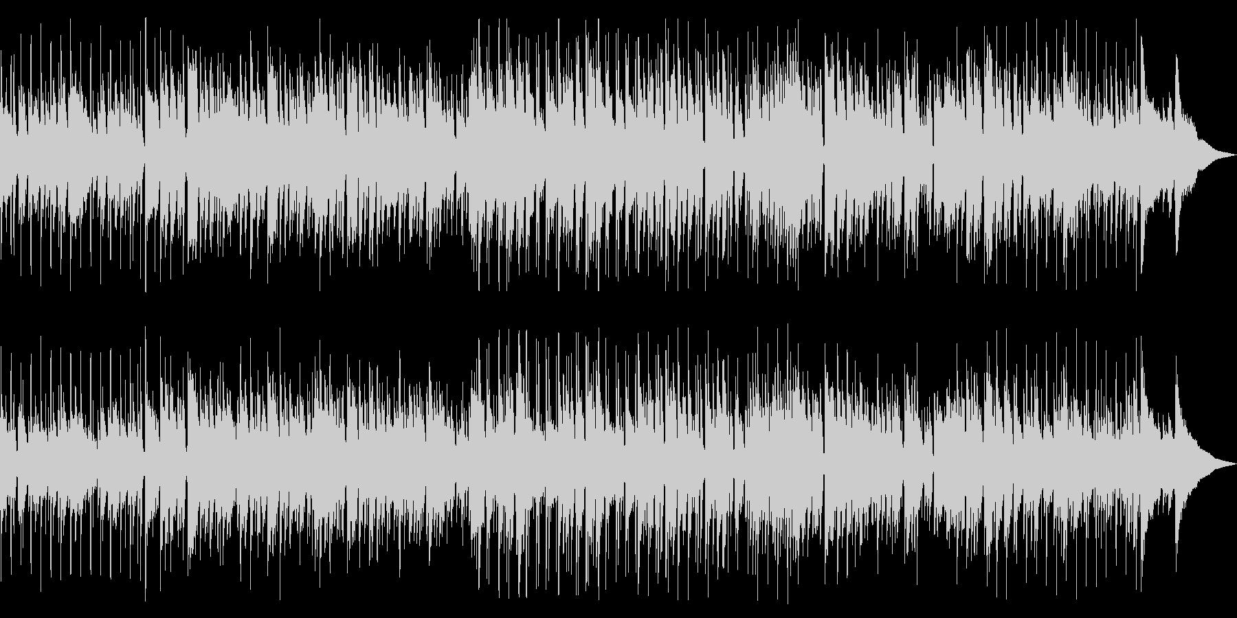 まったりとカフェで流れるボサノバの未再生の波形