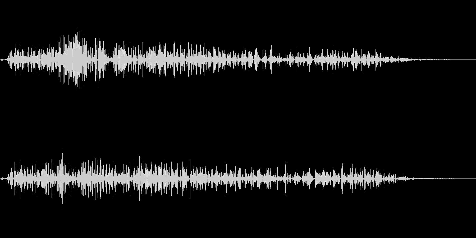攻撃音(ファミコン・アクション・バトル)の未再生の波形