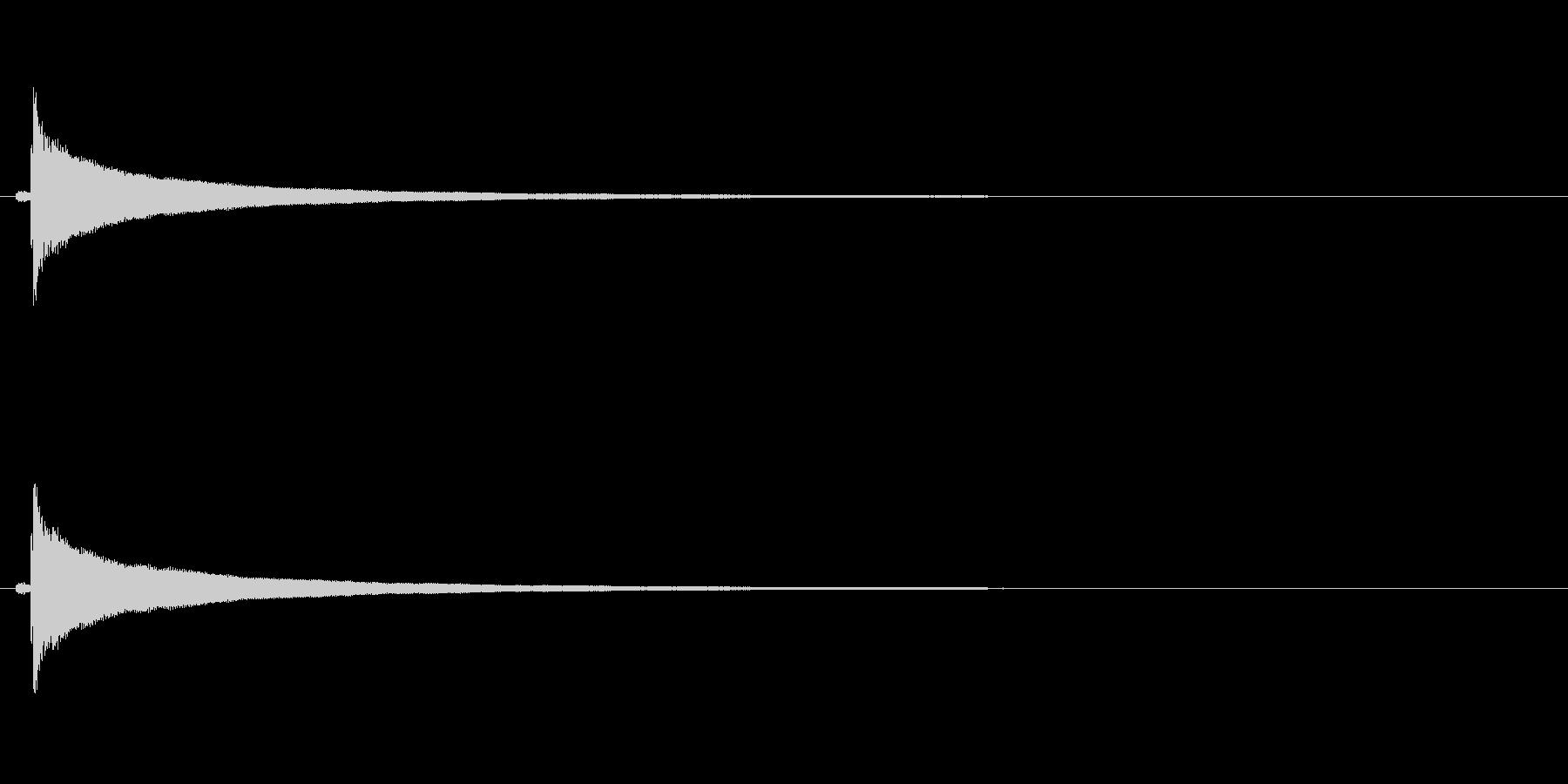 【コールベル タップ式01-1】の未再生の波形