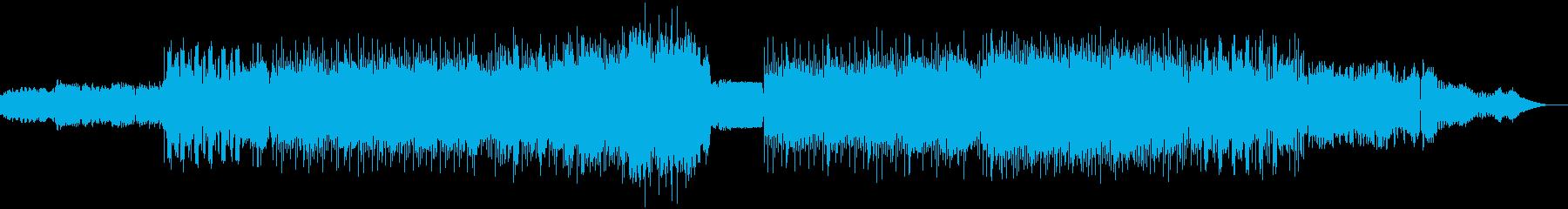 狂気とスパルタDnBの再生済みの波形