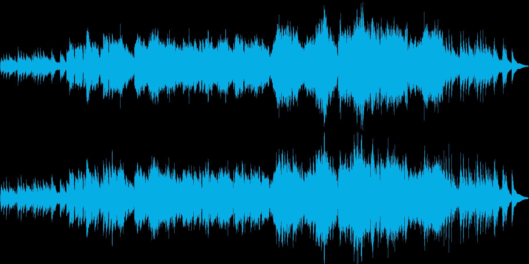 静かな月夜のイメージの幻想曲の再生済みの波形