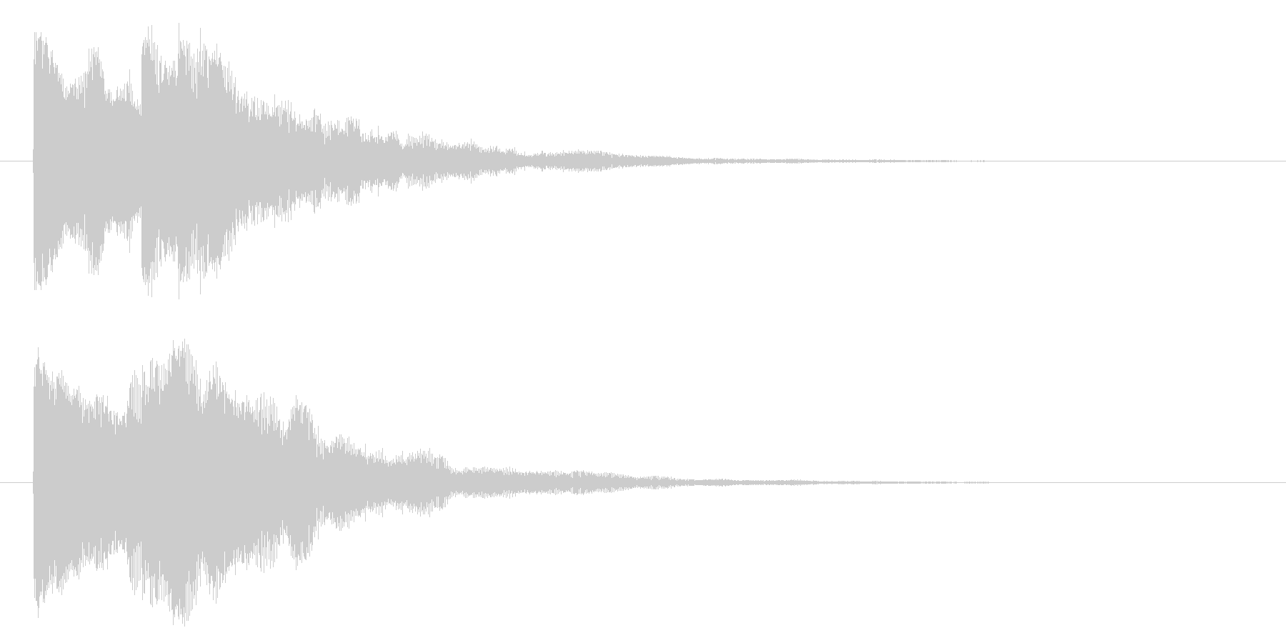 レベルアップ/宇宙/シューティング系の未再生の波形