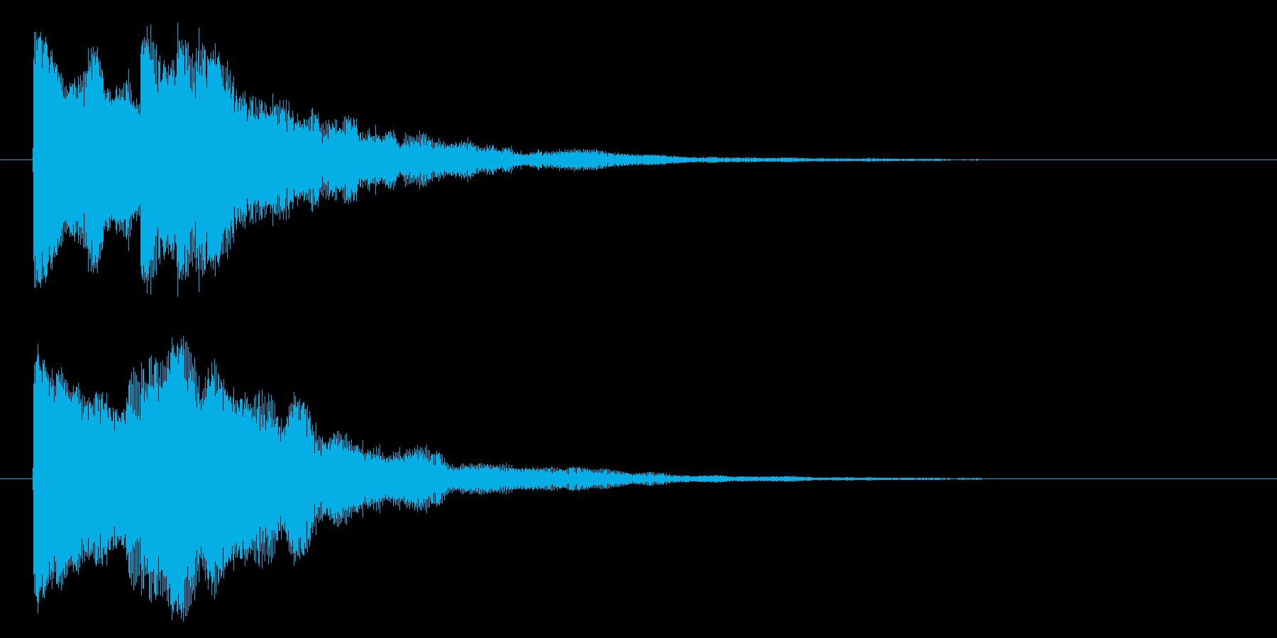 レベルアップ/宇宙/シューティング系の再生済みの波形
