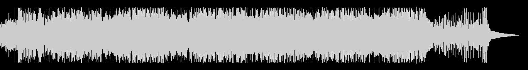 キラキラしたギターアンビエントの未再生の波形