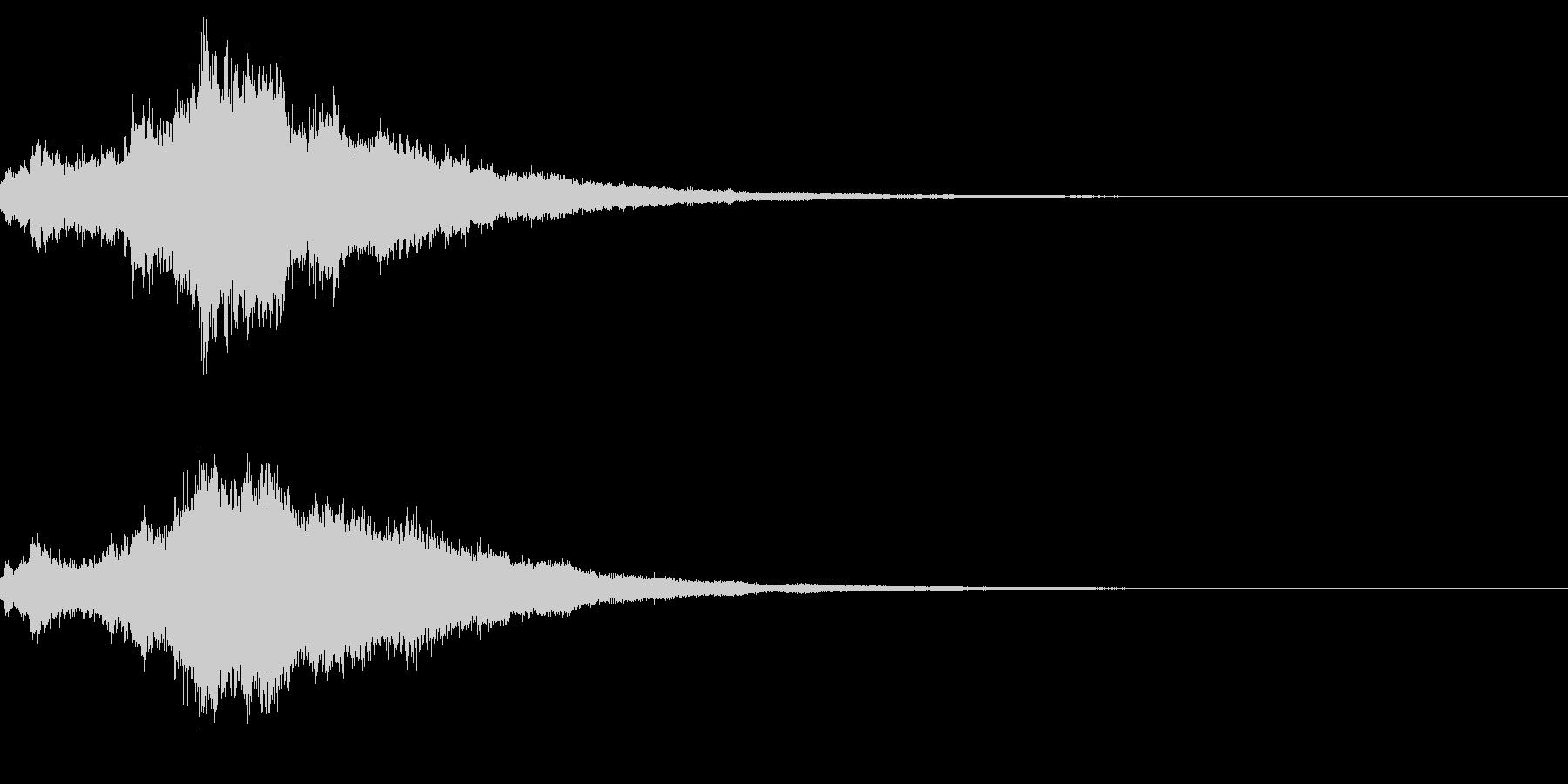 キラキラ♪クリア,達成,回復等に最適18の未再生の波形