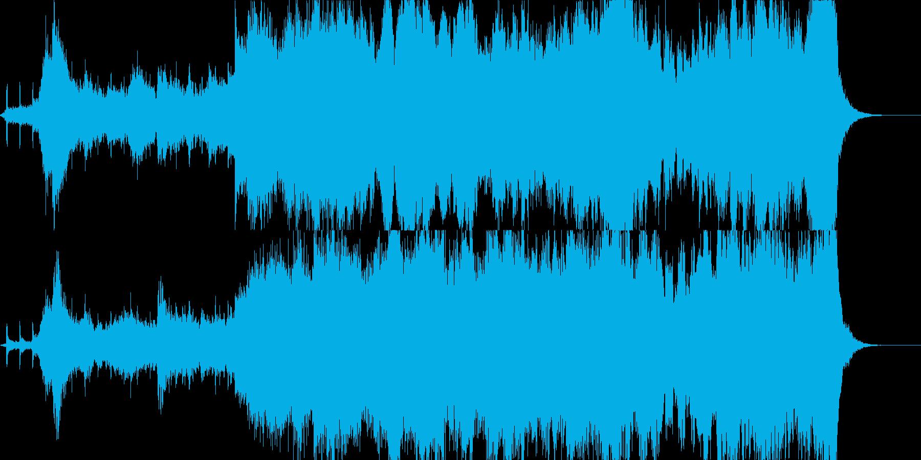 時計の運命的な音と共に入場の再生済みの波形