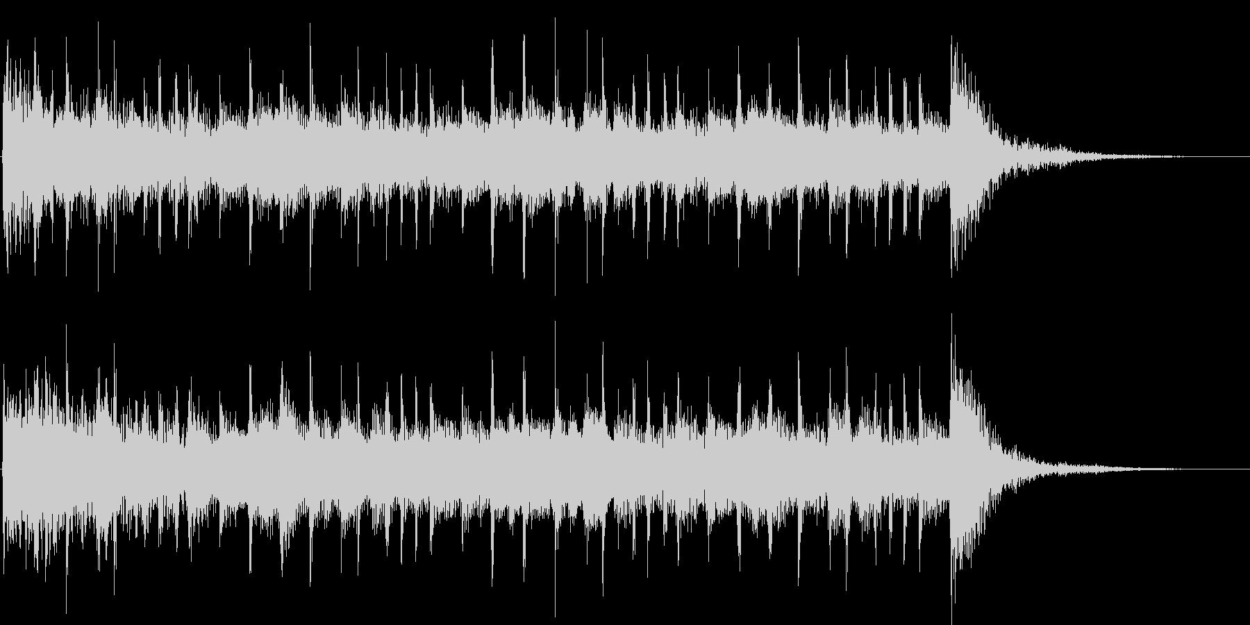 シロミまで11秒のジングルです。の未再生の波形