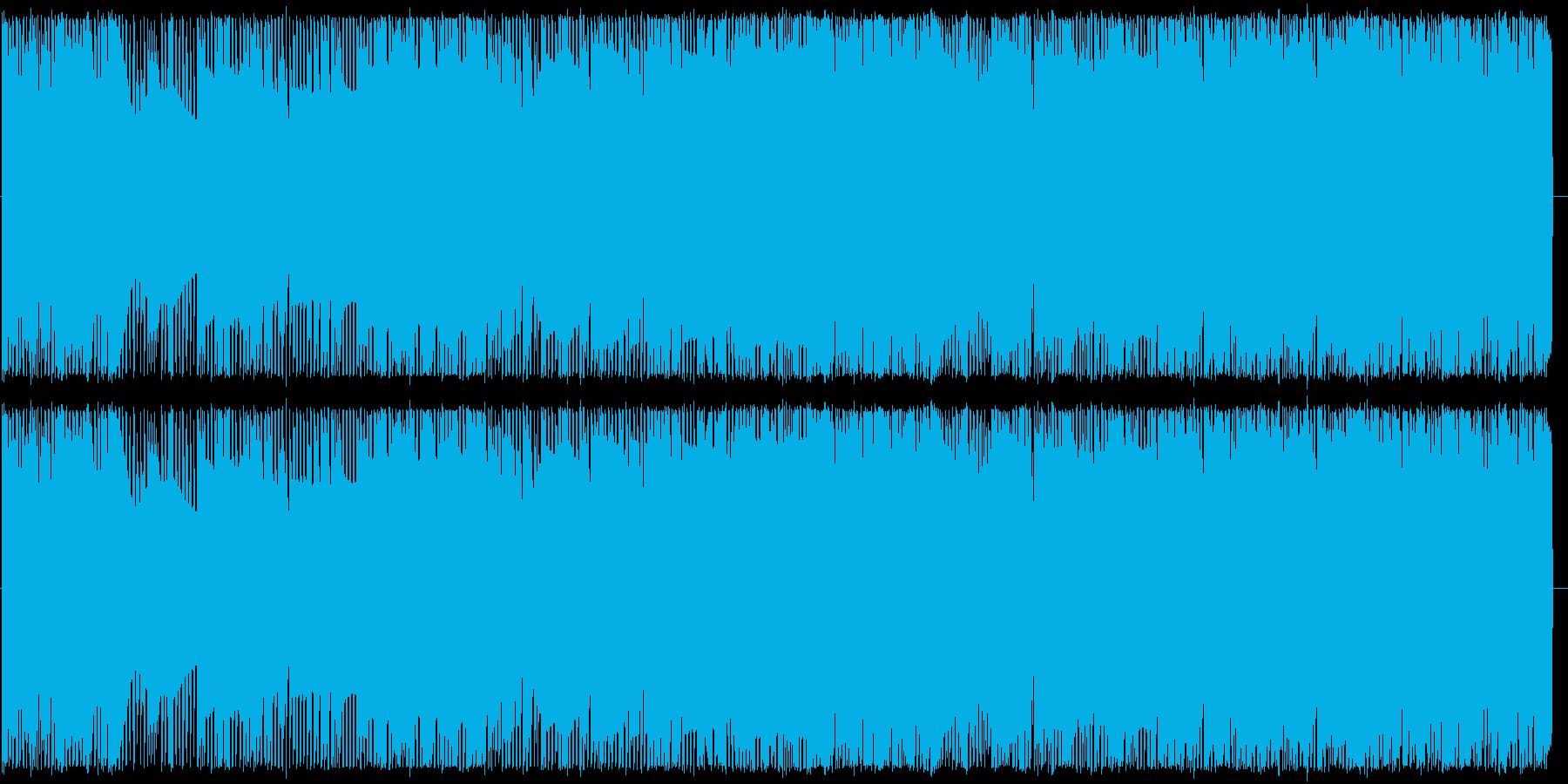 ポップで軽快 ファミコン風チップチューンの再生済みの波形