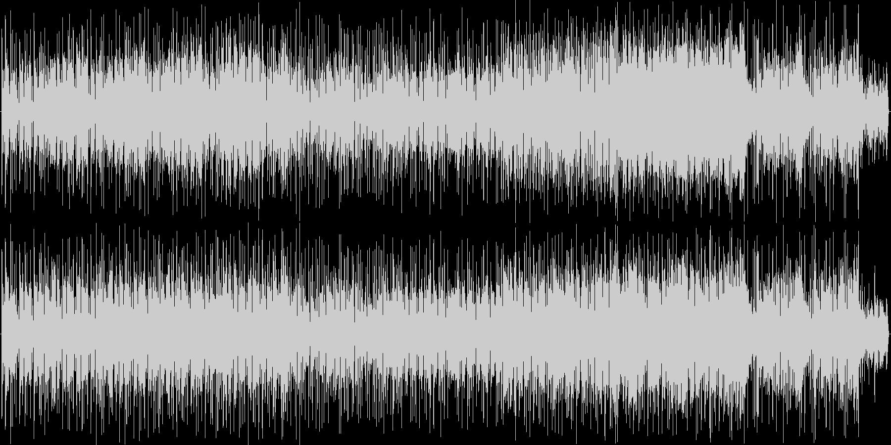 ちょいワル親父のアコギ自慢の未再生の波形