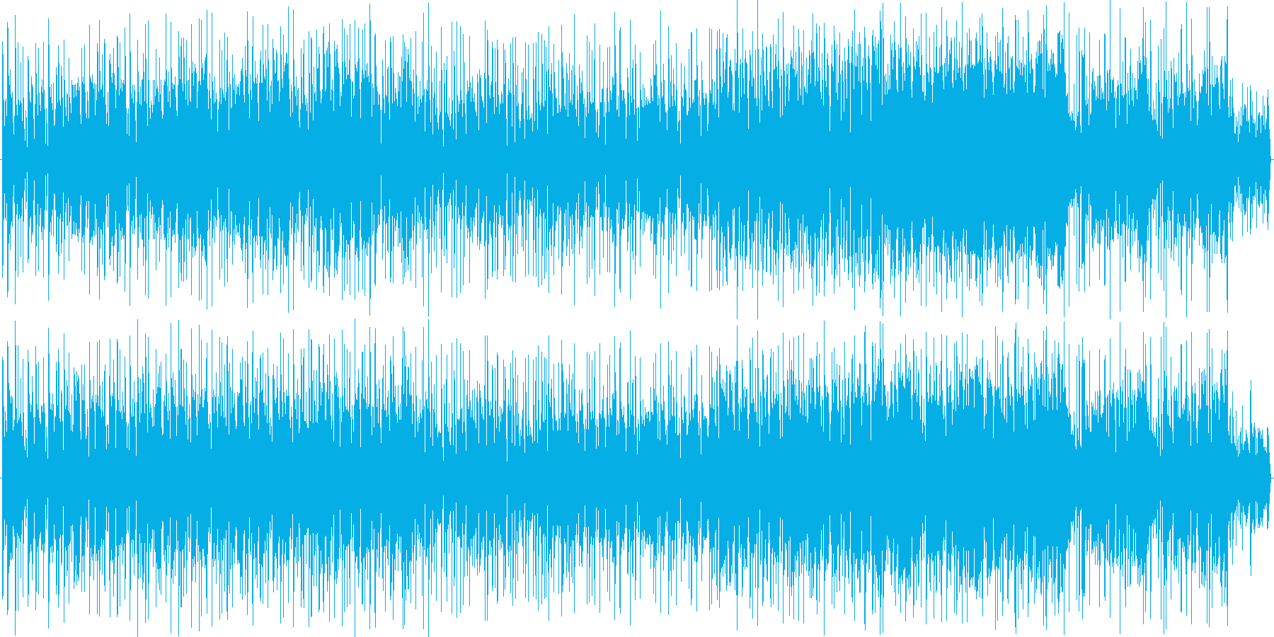 ちょいワル親父のアコギ自慢の再生済みの波形