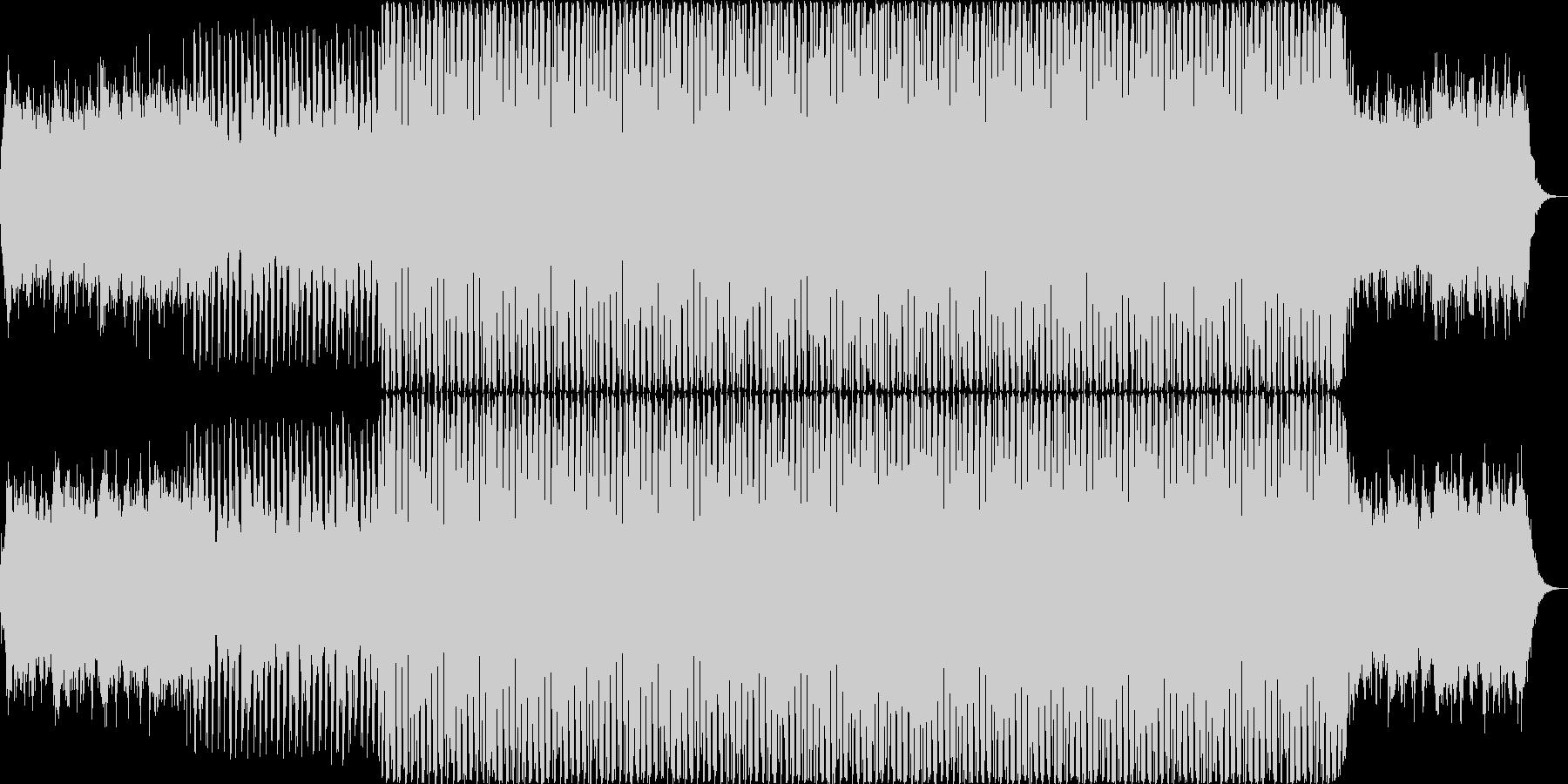 パズルゲーム向けのスローなアンビエントの未再生の波形