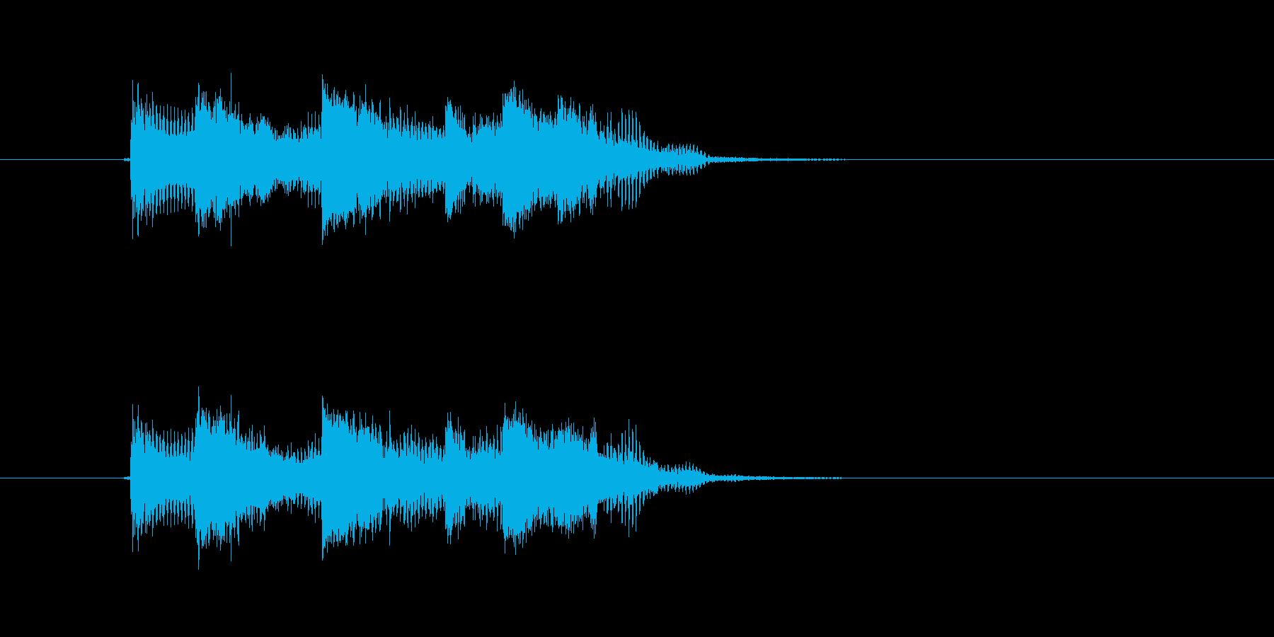 爽やかなギターサウンド(ジングル、転換)の再生済みの波形