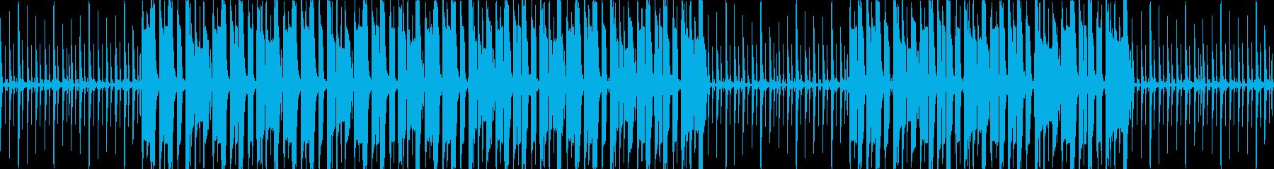 【ゆったりレゲエBGM】の再生済みの波形
