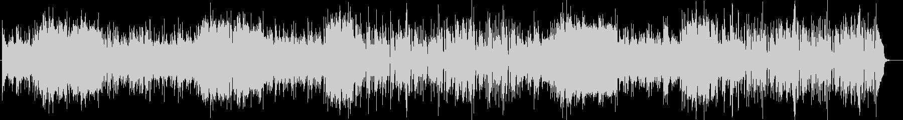 ほのぼの系シンセタンバリンなどサウンドの未再生の波形