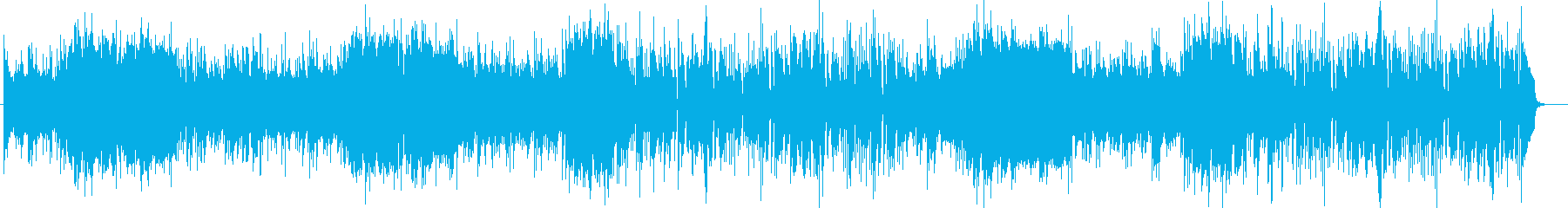 ほのぼの系シンセタンバリンなどサウンドの再生済みの波形