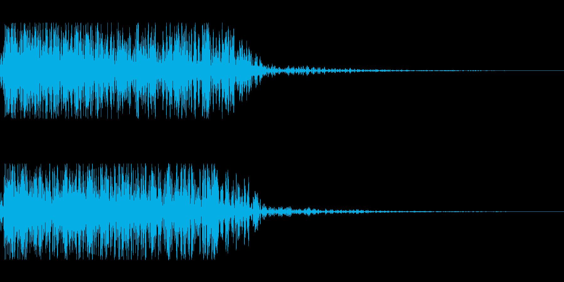 THE 爆破の再生済みの波形