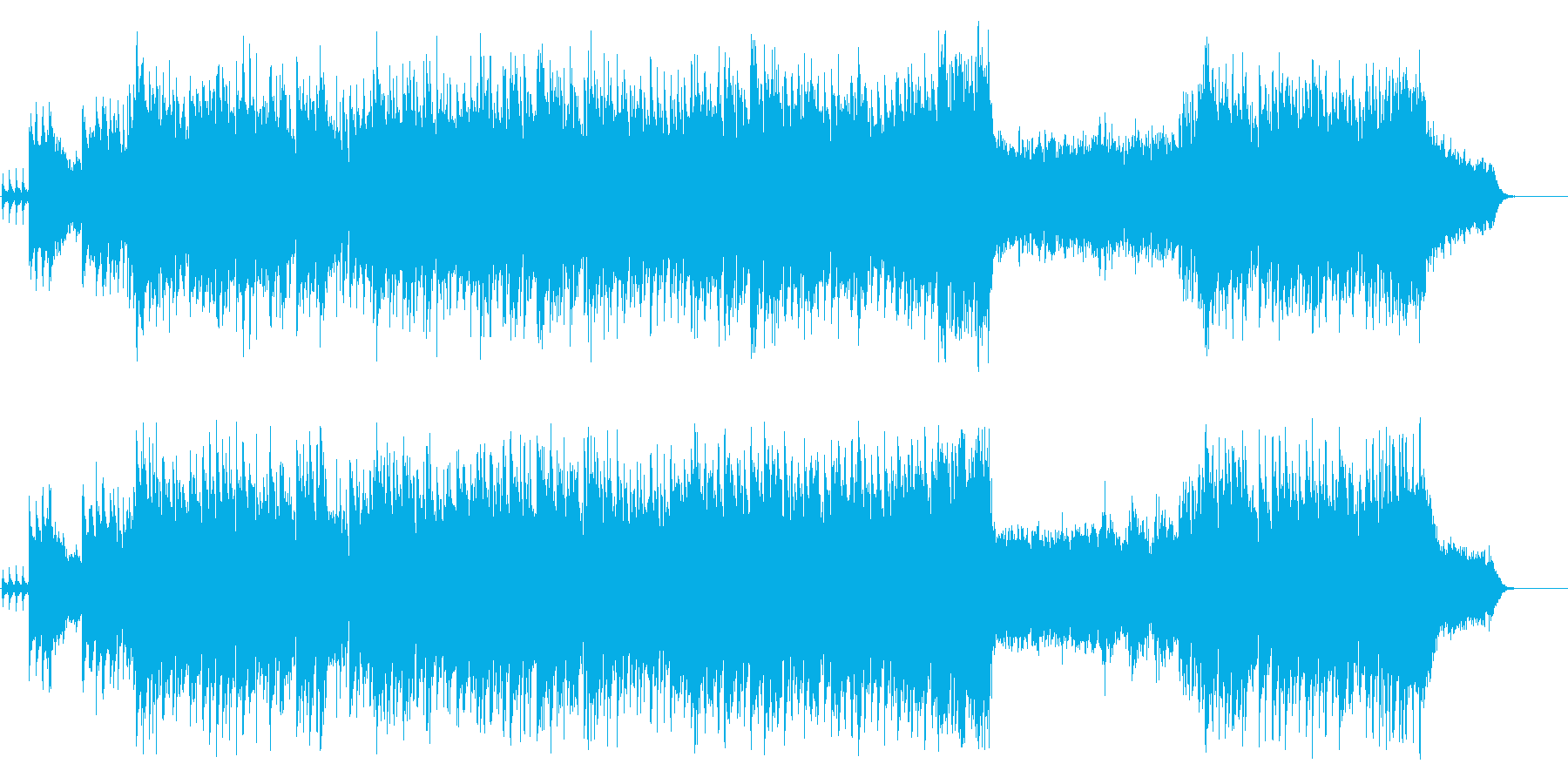 オリジナルクリスマスミュージック1995の再生済みの波形
