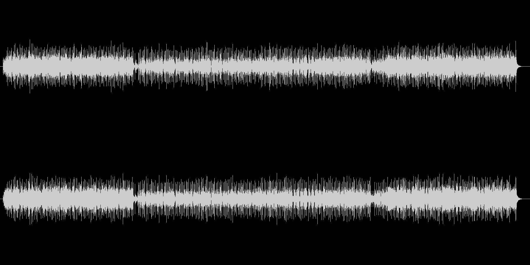 エンディング向きフュージョンの未再生の波形