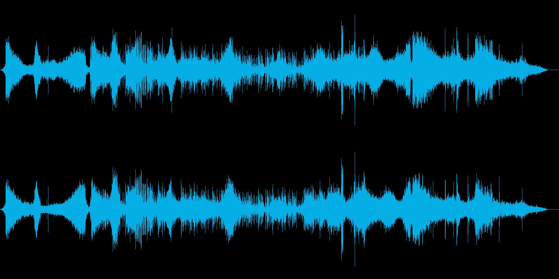 ノイジーなシネマティックトレーラーの再生済みの波形