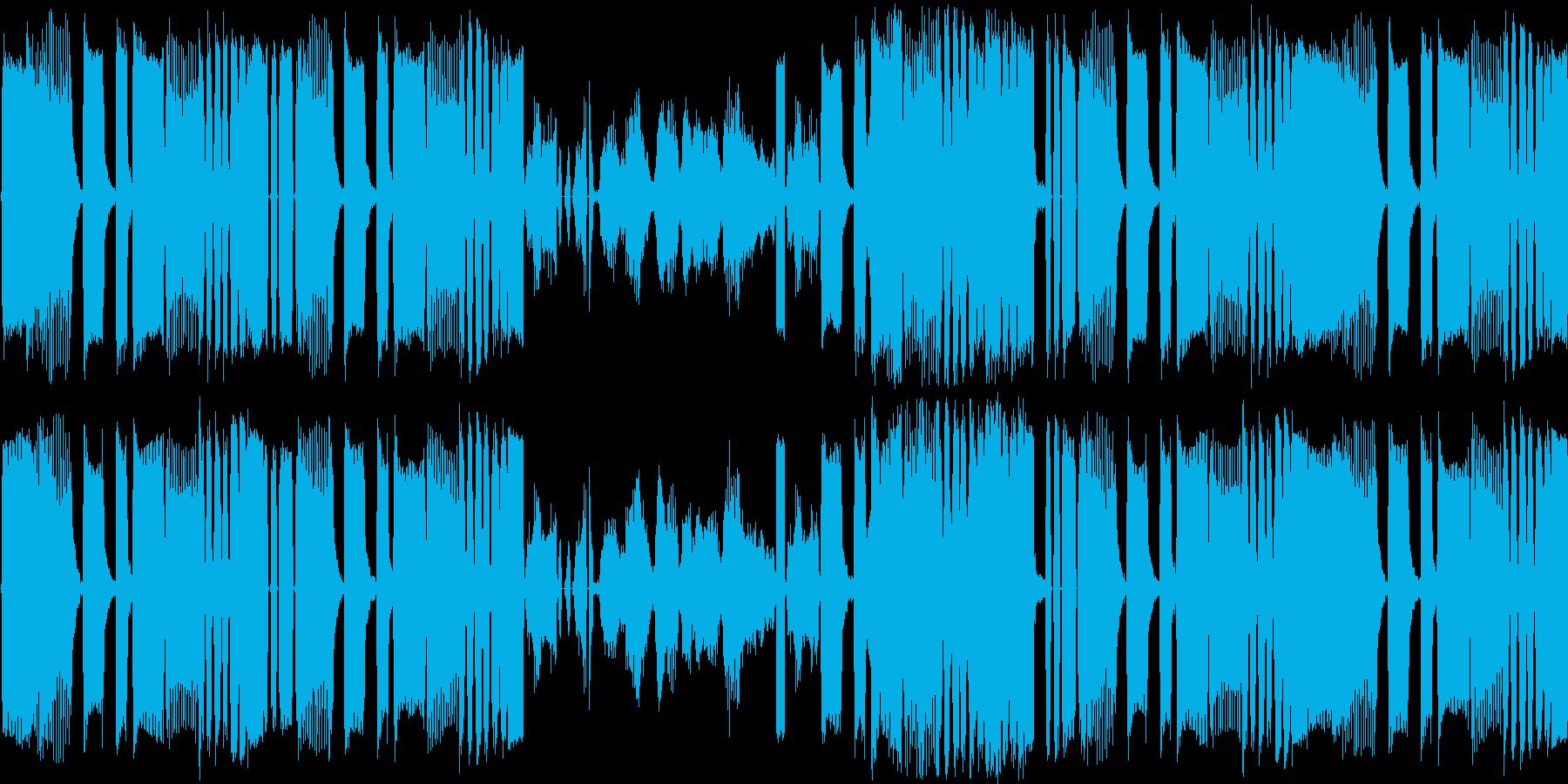 【ロボットダブステップ】の再生済みの波形