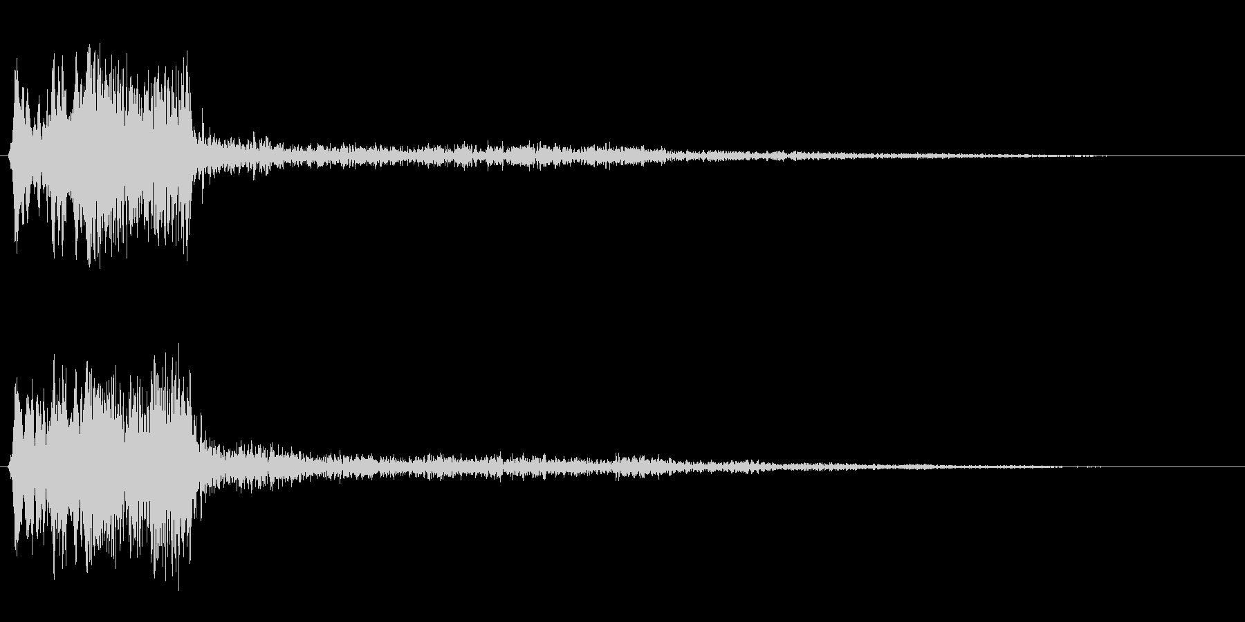 プワァー(高めの音質)の未再生の波形