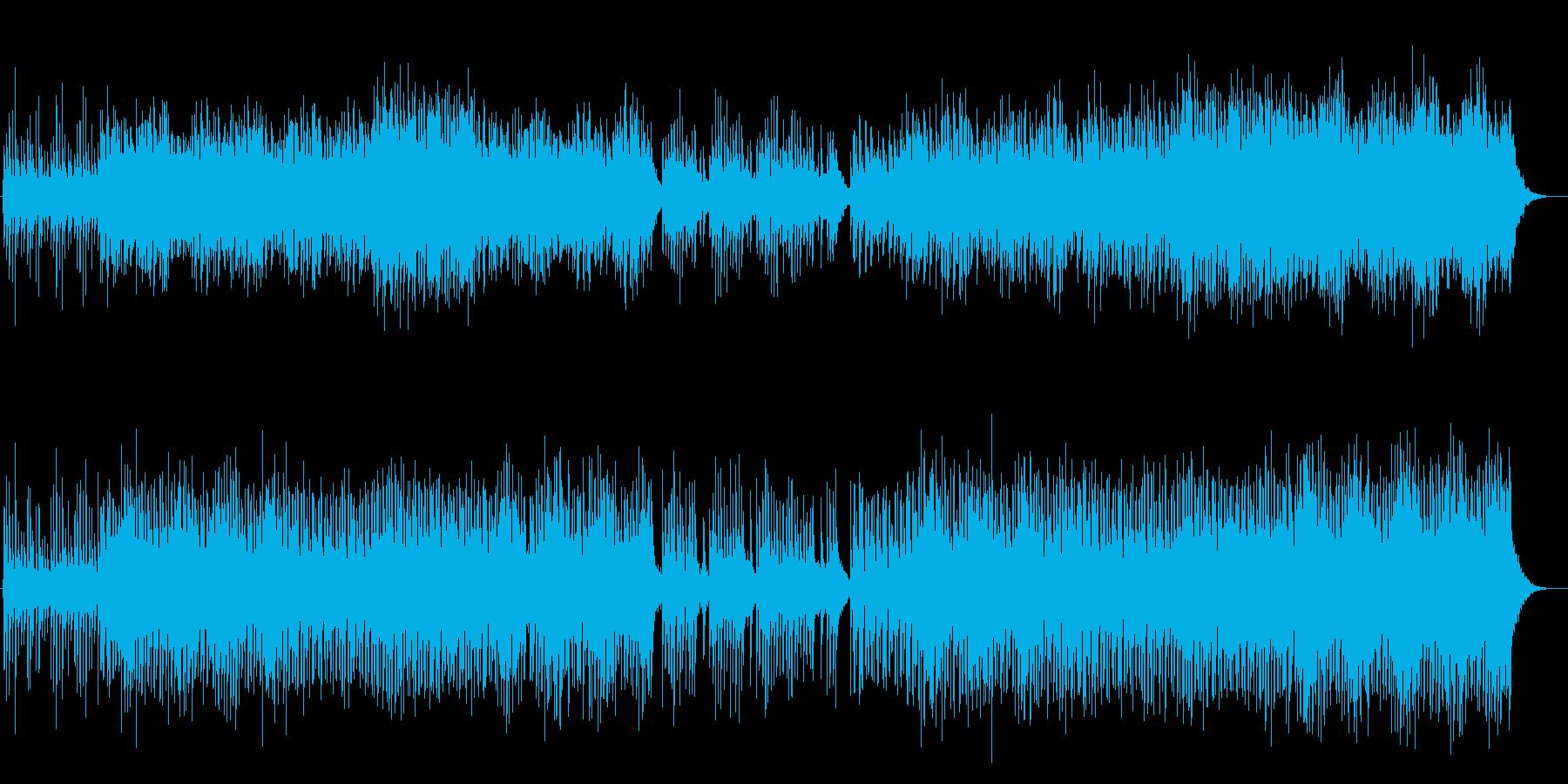 クラシカル、音が追いかけっこ、愉快、軽快の再生済みの波形